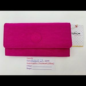 KIPLING New Teddy Large Snap Wallet
